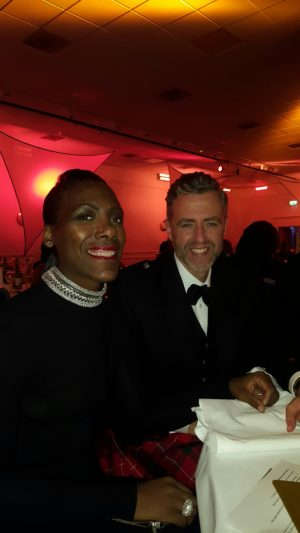 Carol Burrell & Darren Kyle from Nottinghamshire YMCA