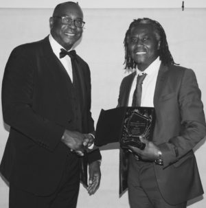 Junior Heman from Tuntum Housing Association & Joe Kofi, (Winner Tony Kofi's brother)